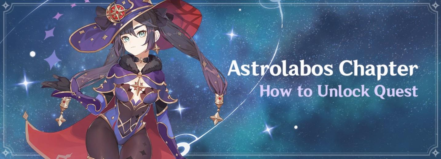 Genshin Impact Mona, Astrolabos
