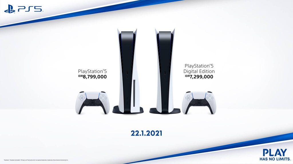 Harga dan Tanggal Rilis PS5 Indonesia